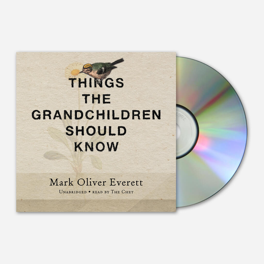 Things The Grandchildren Should Know Audio Book CD