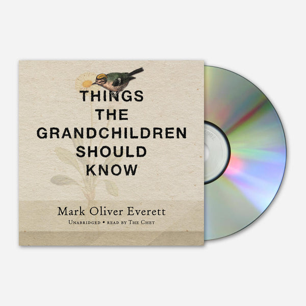 Things The Grandchildren Should Know Audio Book CD by Eels for sale on hellomerch.com