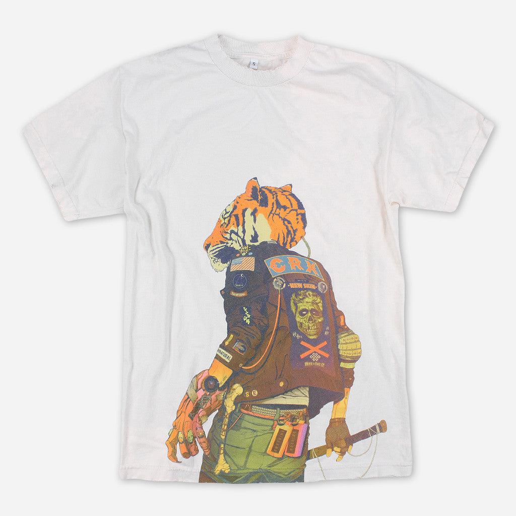 CRX Tiger Vintage White T-Shirt