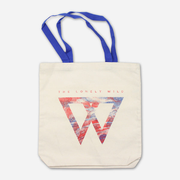W Logo Tote Bag by The Lonely Wild for sale on hellomerch.com