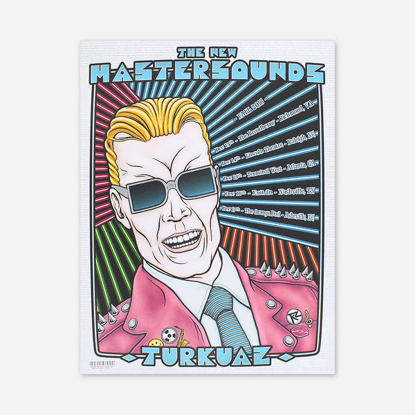December Fall 2016 Poster by The New Mastersounds for sale on hellomerch.com