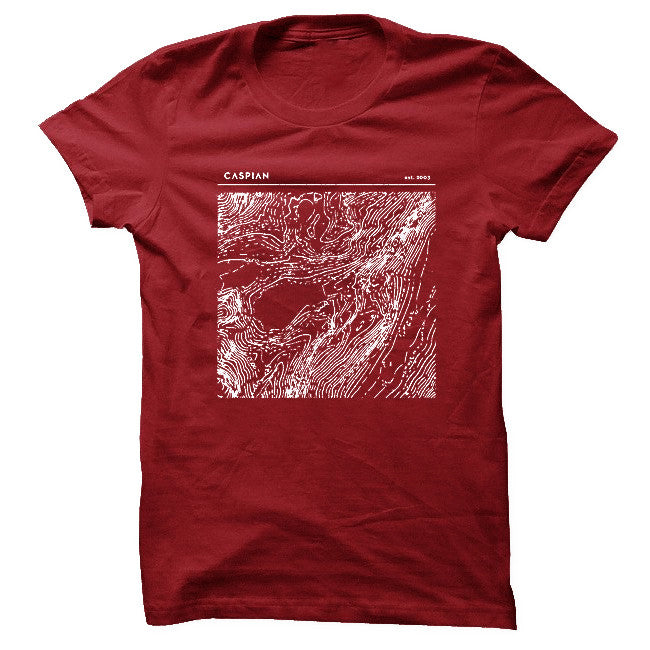 Topography Cardinal T-Shirt - Caspian - Hello Merch