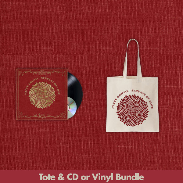 Servant Of Love Tote Bundle by Patty Griffin for sale on hellomerch.com