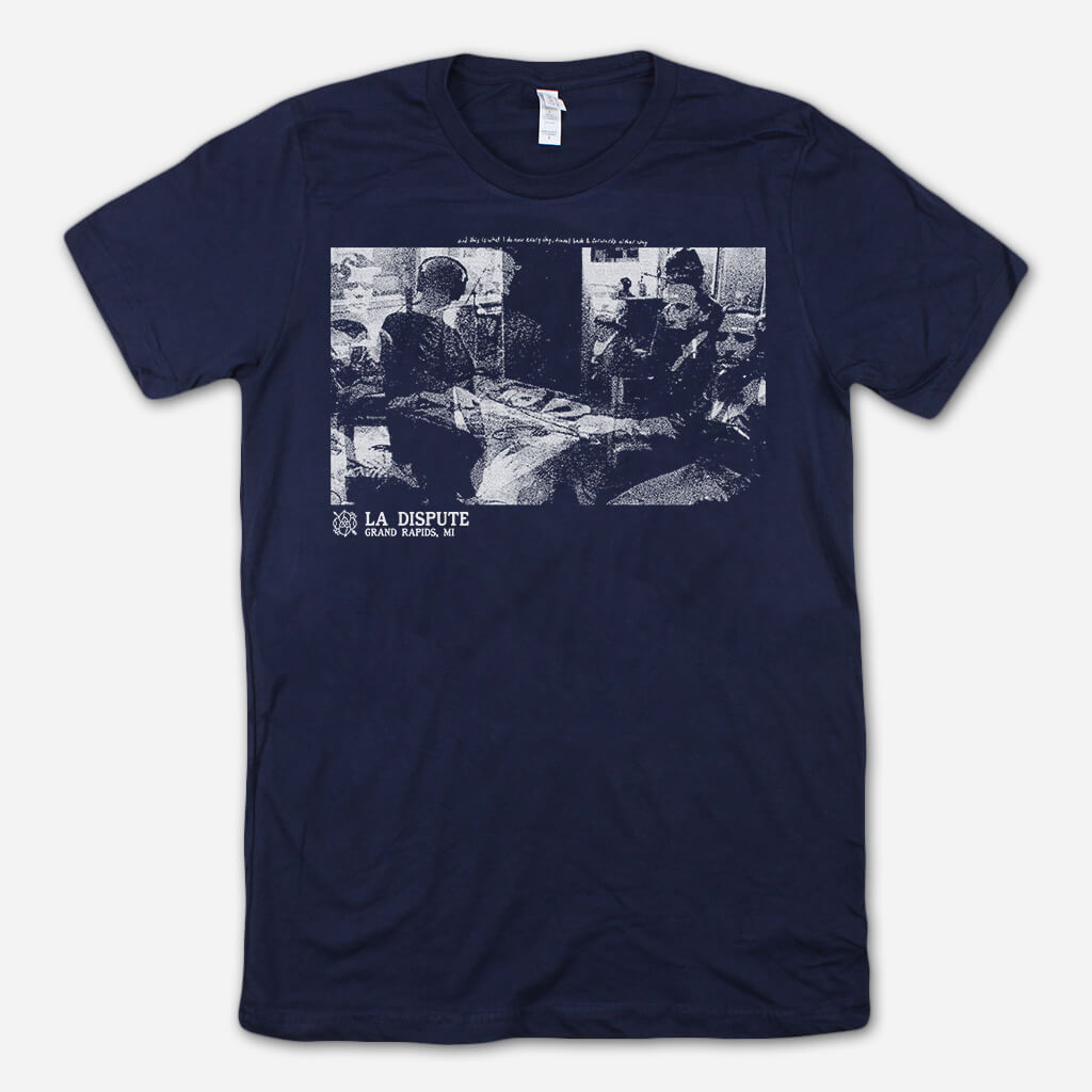 Traveling Navy T-Shirt