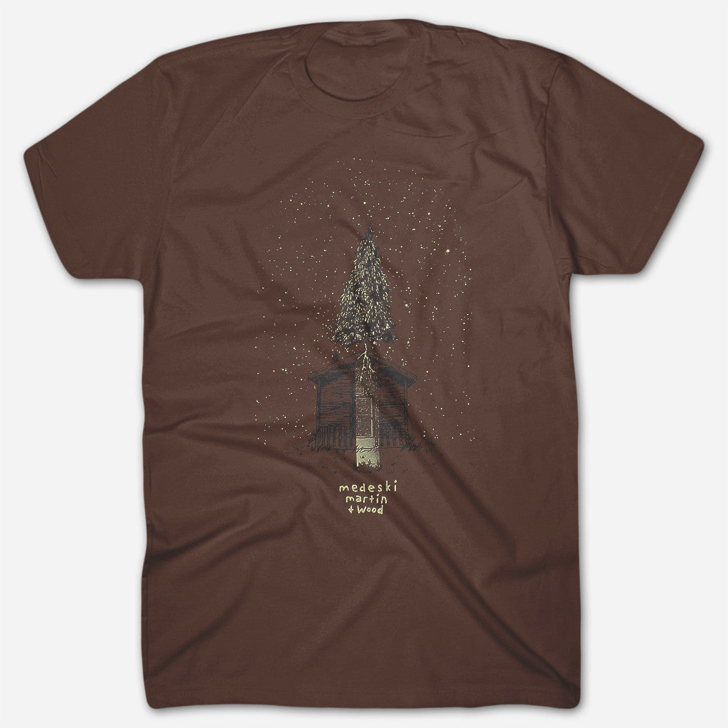 Tree Brown T-Shirt - Medeski Martin & Wood - Hello Merch