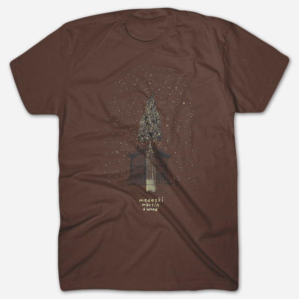 Tree Brown T-Shirt by Medeski Martin & Wood for sale on hellomerch.com