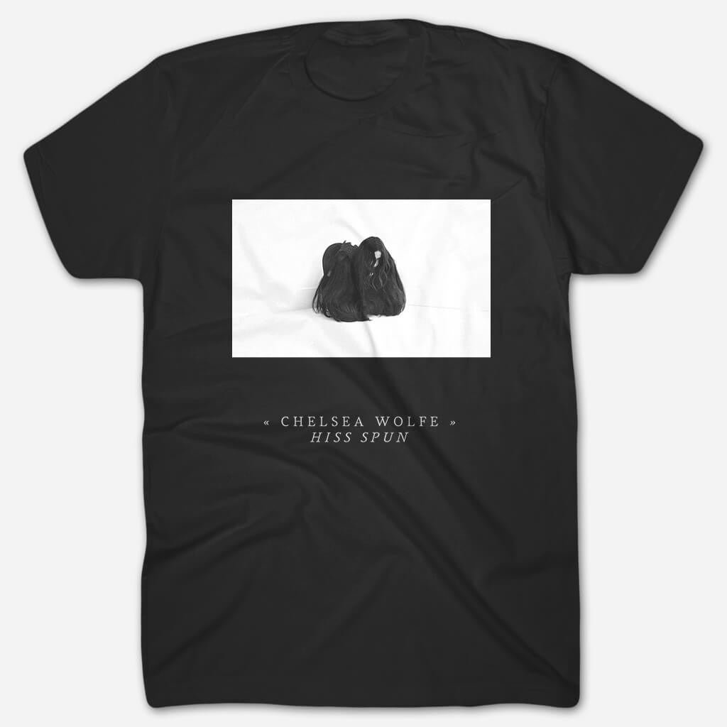 Hiss Spun Black T-Shirt - Chelsea Wolfe - Hello Merch