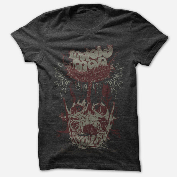 Skull Growth Black Tri-Blend by Mutoid Man for sale on hellomerch.com