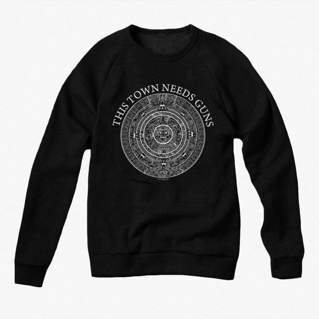 Original 13.0.0.0.0 Black Crew Neck Pullover Sweatshirt