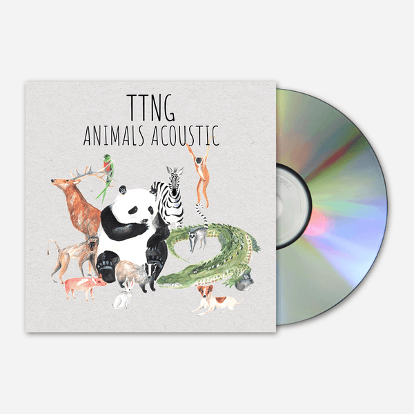 Animals Acoustic CD by TTNG for sale on hellomerch.com