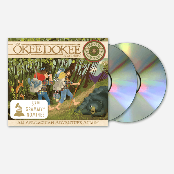 Through The Woods: CD & DVD - An Appalachian Adventure Album by The Okee Dokee Brothers for sale on hellomerch.com