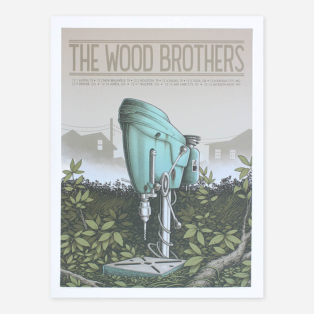 December 2016 Tour - The Wood Brothers - Hello Merch