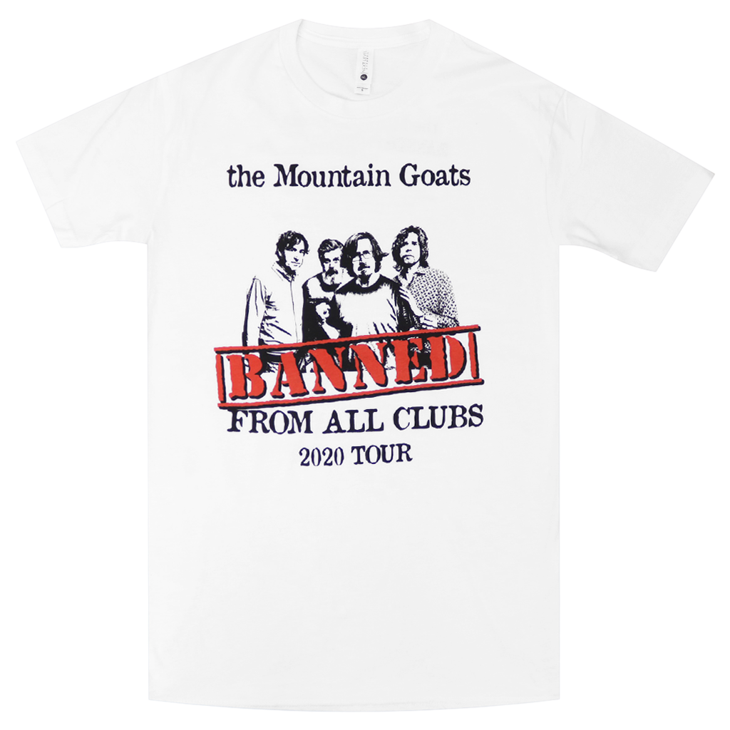 Banned White T-Shirt