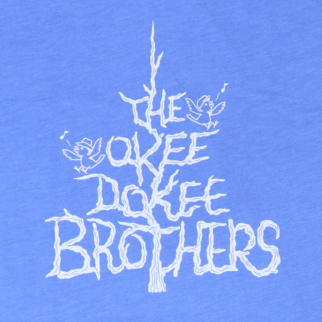 Tree - Toddler's Columbia Blue T-Shirt