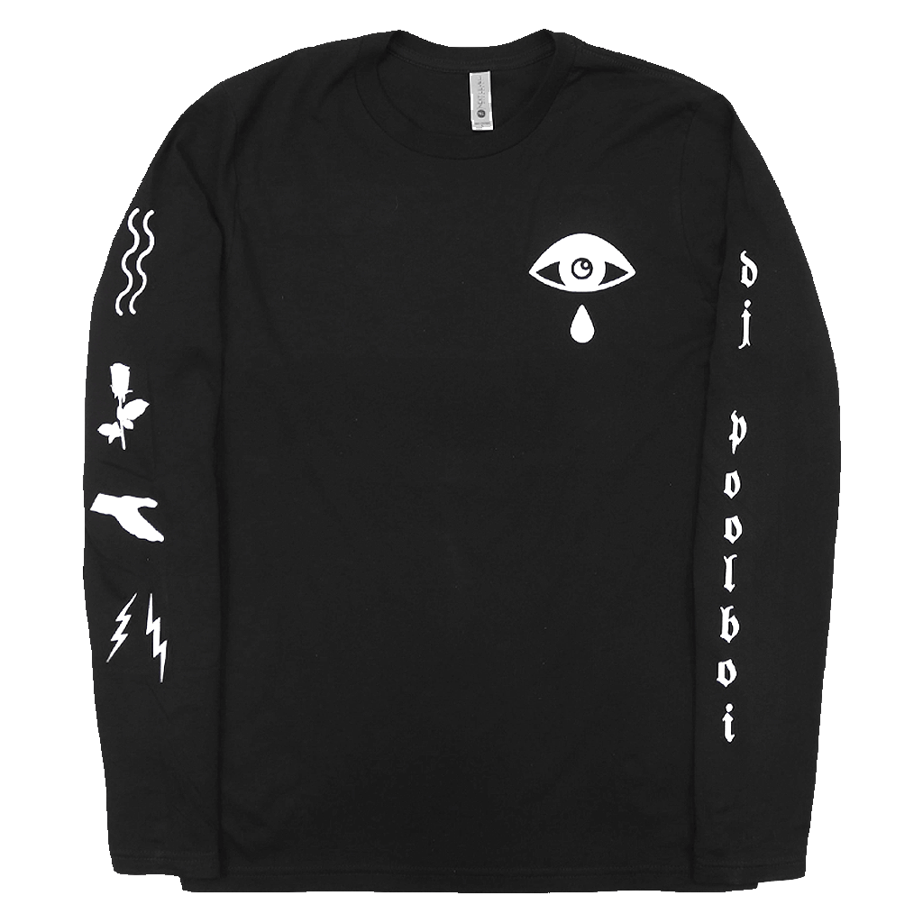 Sensitive Thug Black Long Sleeve T-Shirt