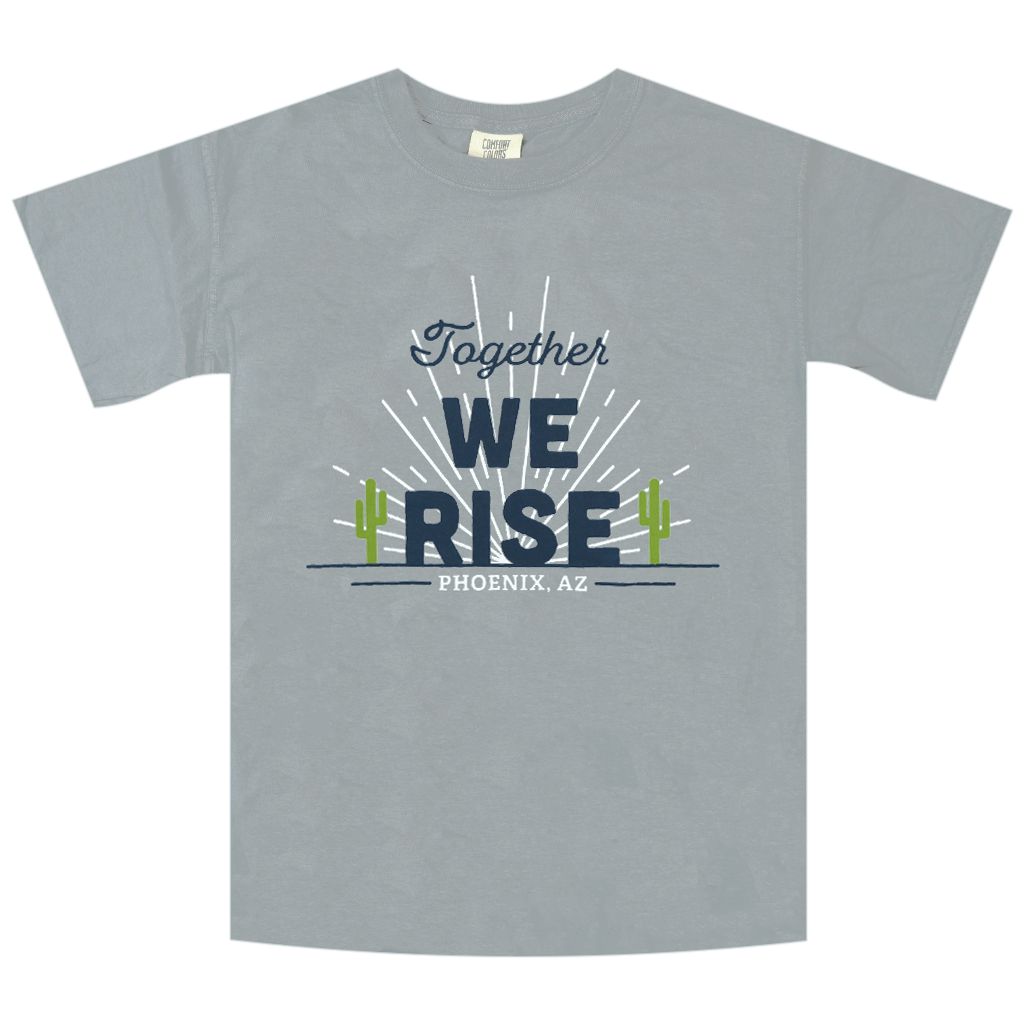 Together, We Rise Granite T-Shirt