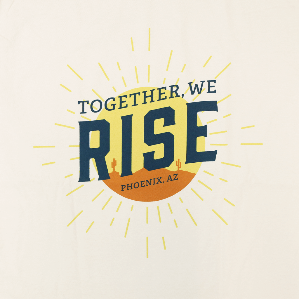 Together, We Rise Ivory T-Shirt