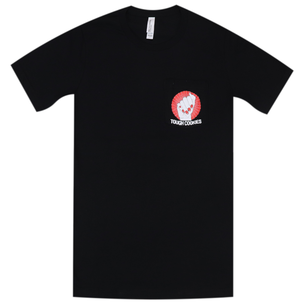 Tough Cookies Black Pocket T-Shirt