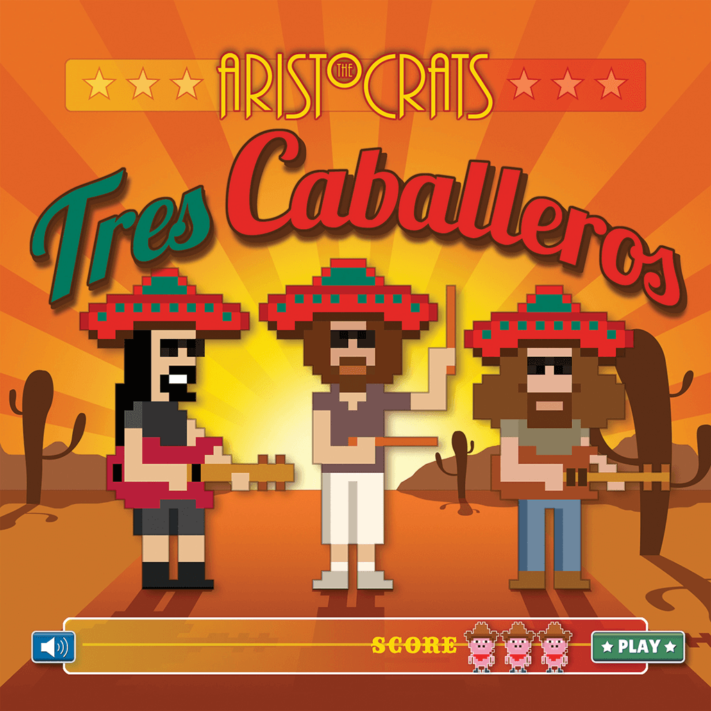 Tres Caballeros Deluxe Edition CD & DVD