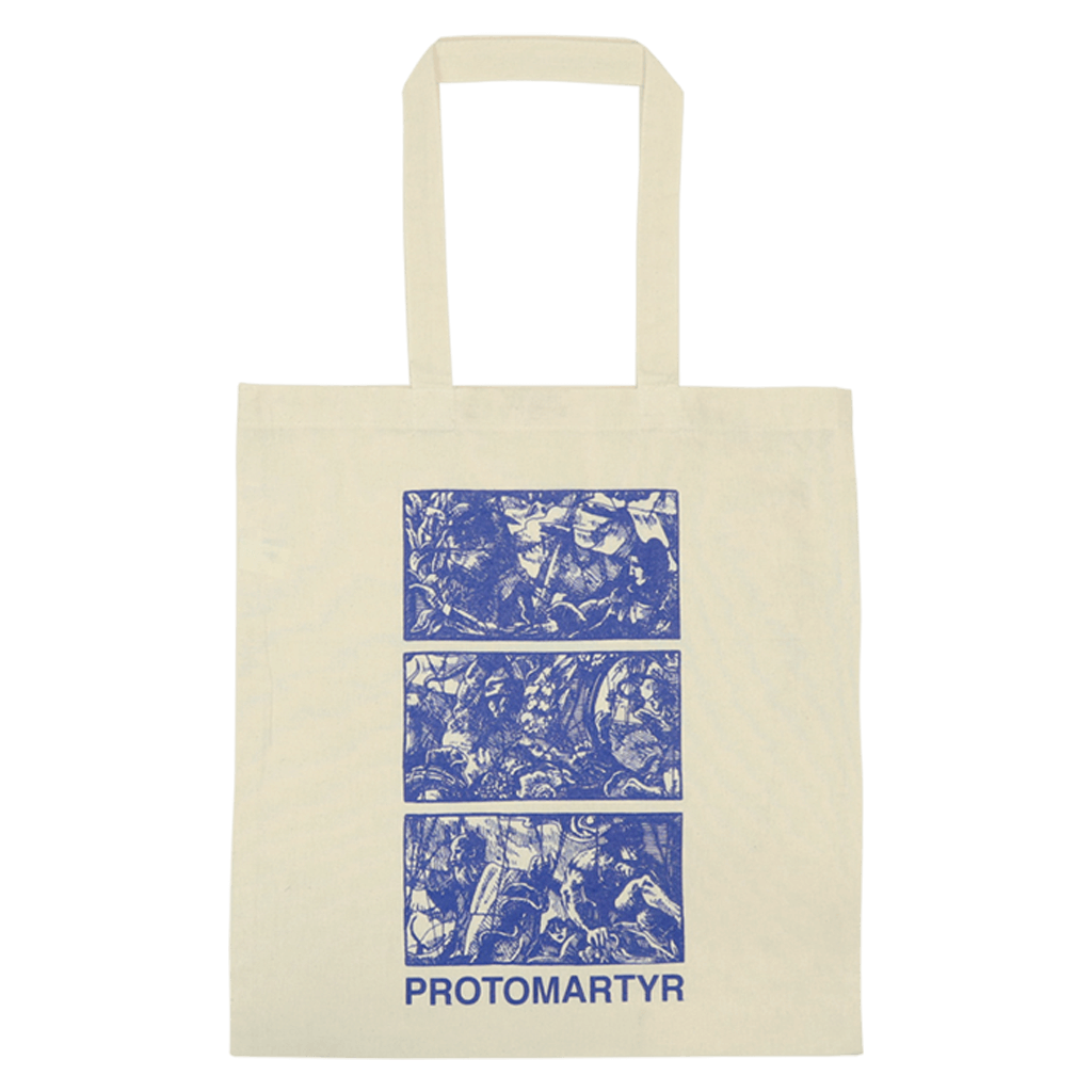 Triptych Natural Tote Bag