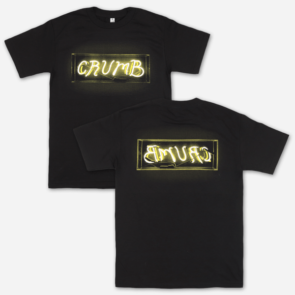 Tube Black T-Shirt by Crumb for sale on hellomerch.com