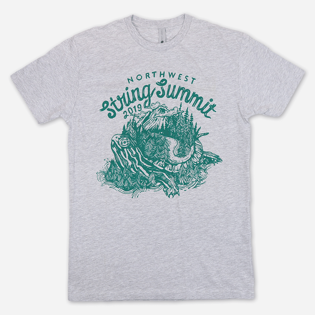 Turtle Heather Grey T-Shirt
