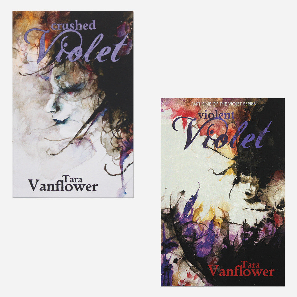The Violet Series Signed Paperback Bundle - Lycia - Hello Merch