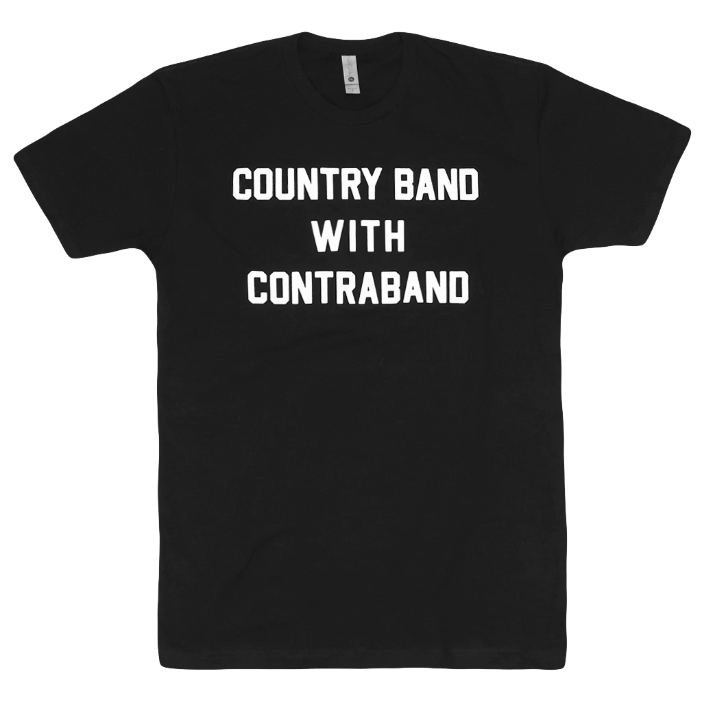 Country Contraband Black T-Shirt