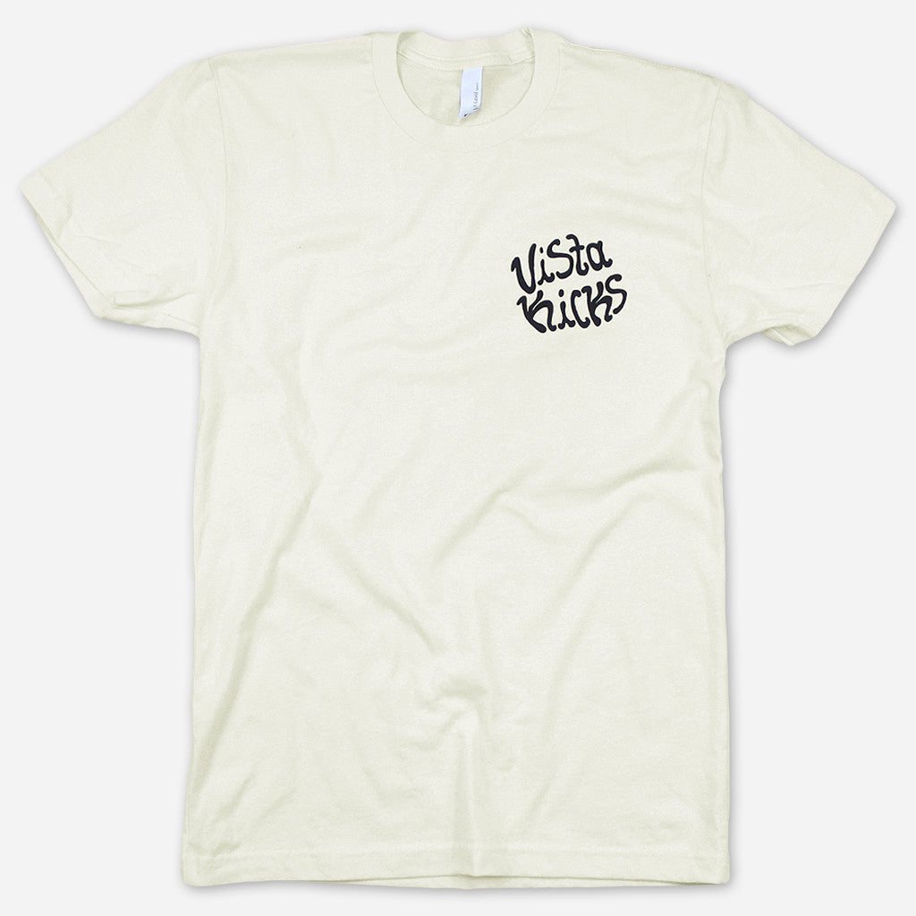 Scaredy Cat Natural T-Shirt - Vista Kicks - Hello Merch