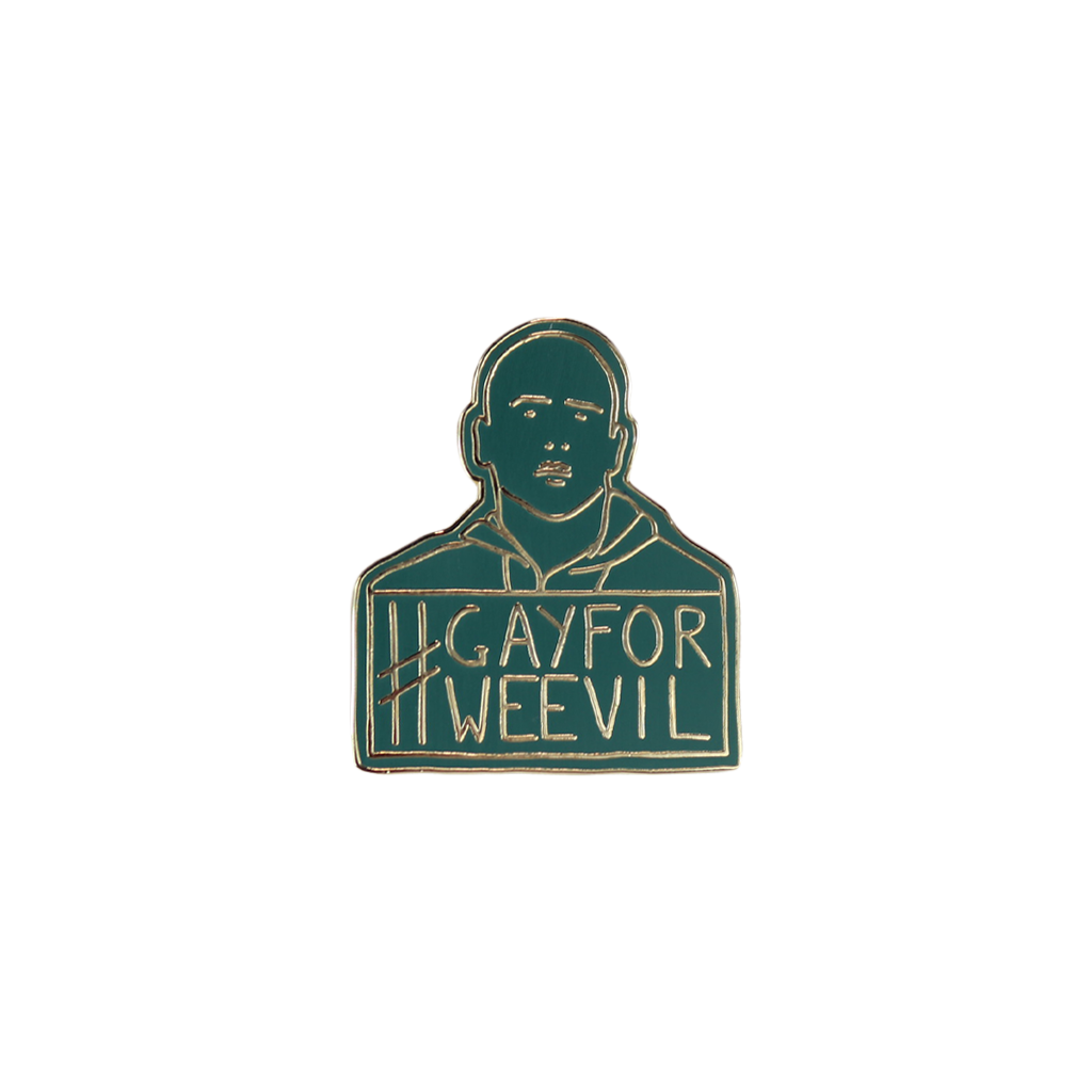 VMI Gay For Weevil Enamel Pin