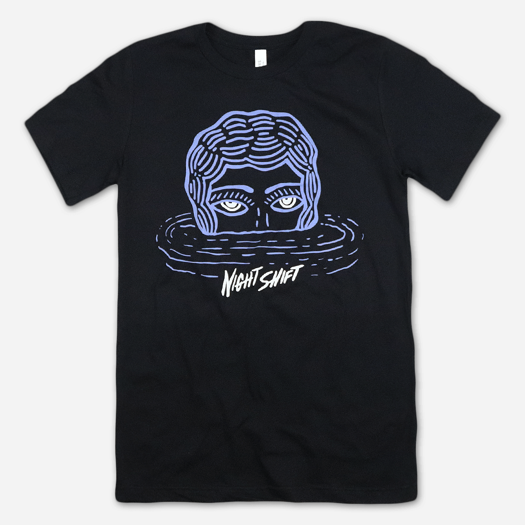 Waterperson Black T-Shirt