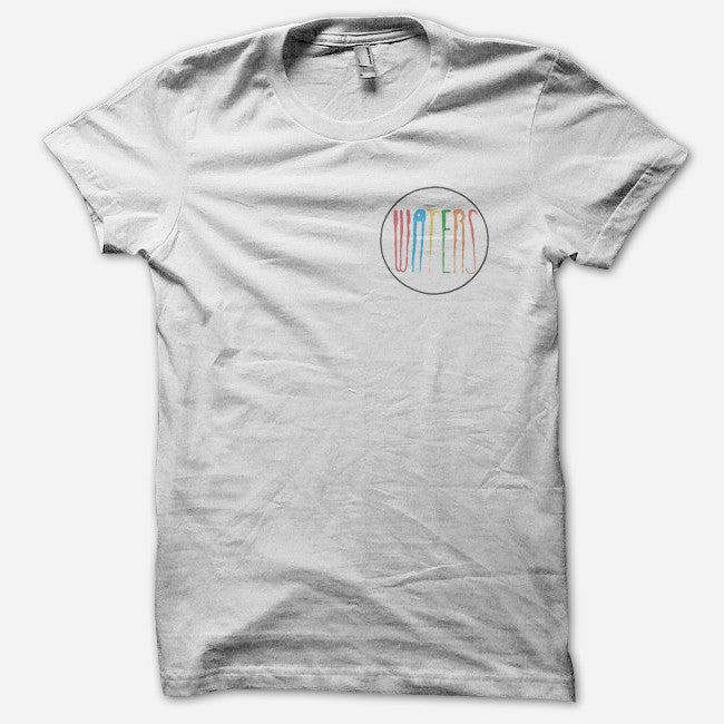 WATERS White T-Shirt