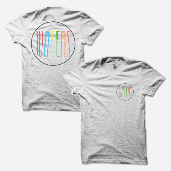 WATERS White T-Shirt - WATERS - Hello Merch