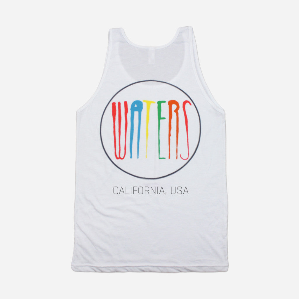 WATERS California, USA White Tank - WATERS - Hello Merch
