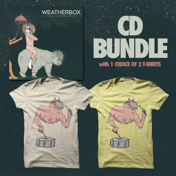 Flies In All Directions CD Bundle by Weatherbox for sale on hellomerch.com