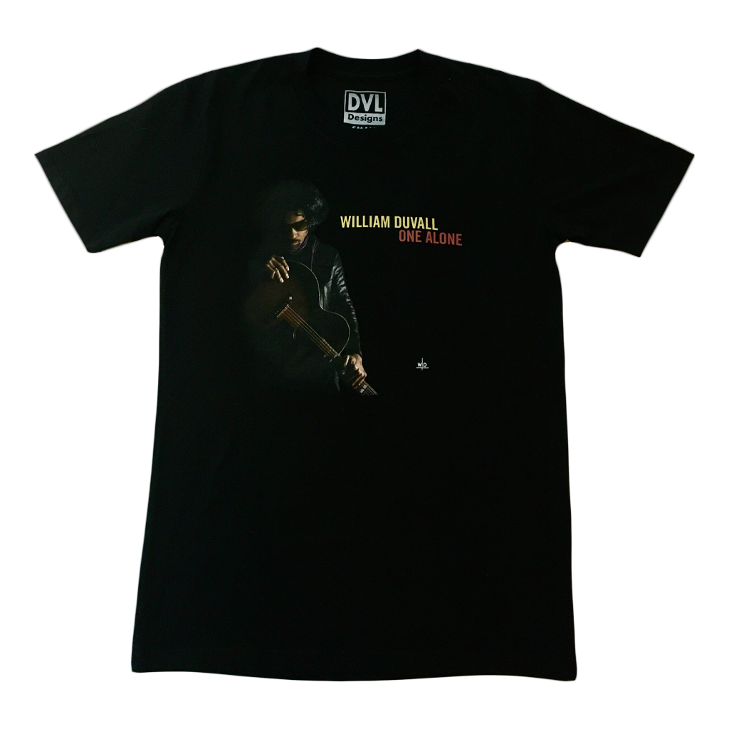 One Alone Album Cover Black T-Shirt