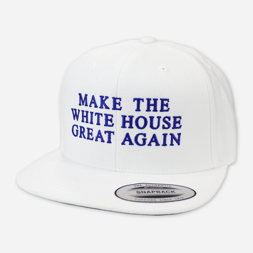 Make The White House Great Again™ White Snapback Hat