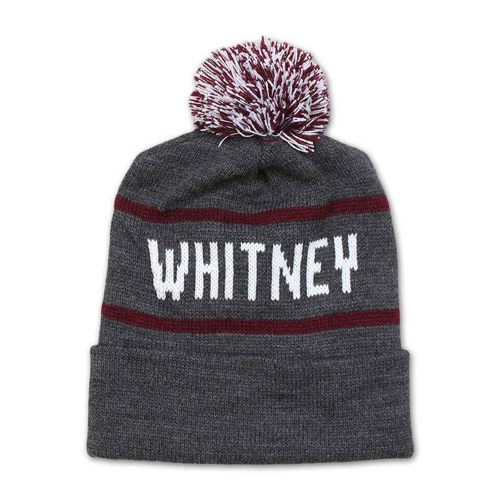 Whitney Pom Beanie - Whitney - Hello Merch