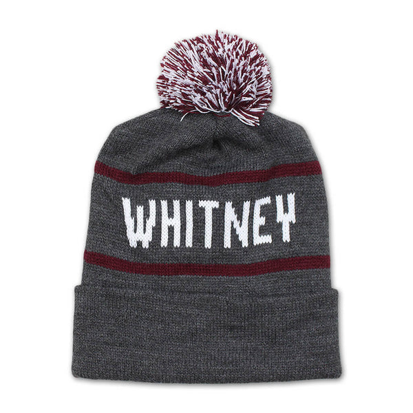 Whitney Pom Beanie by Whitney for sale on hellomerch.com
