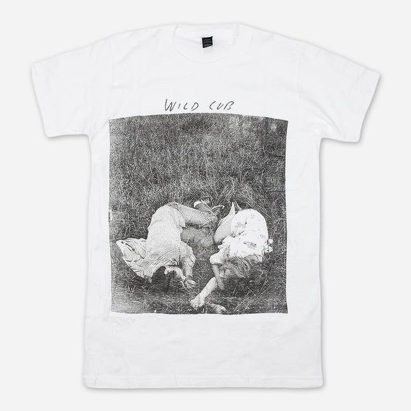 Youth White T-Shirt by Wild Cub for sale on hellomerch.com