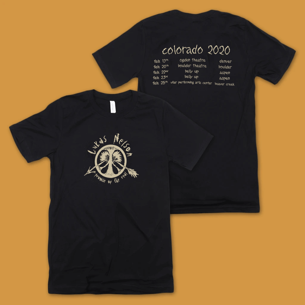 Colorado 2020 Black T-Shirt