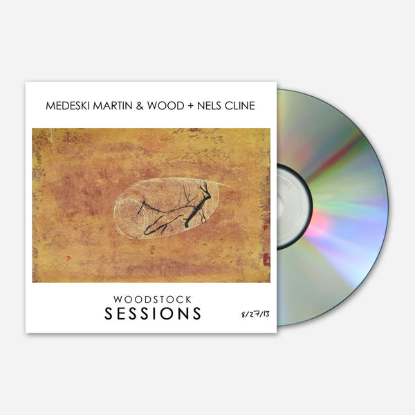 MMW + Nels Cline Woodstock Sessions CD by Medeski Martin & Wood for sale on hellomerch.com