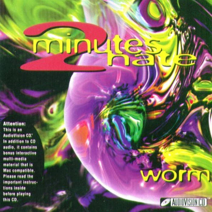 2 Minutes Hate - Worm CD - Ardent Music - Hello Merch