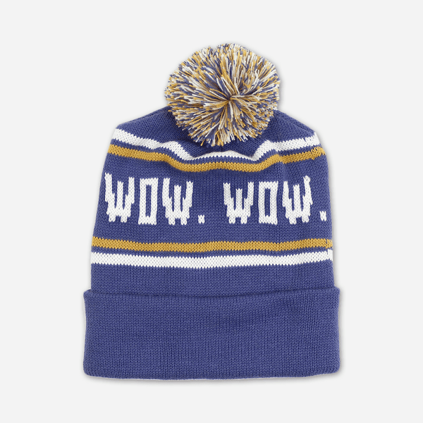 Wow Wow Wow Wow Pom Hat by Buffering the Vampire Slayer for sale on hellomerch.com