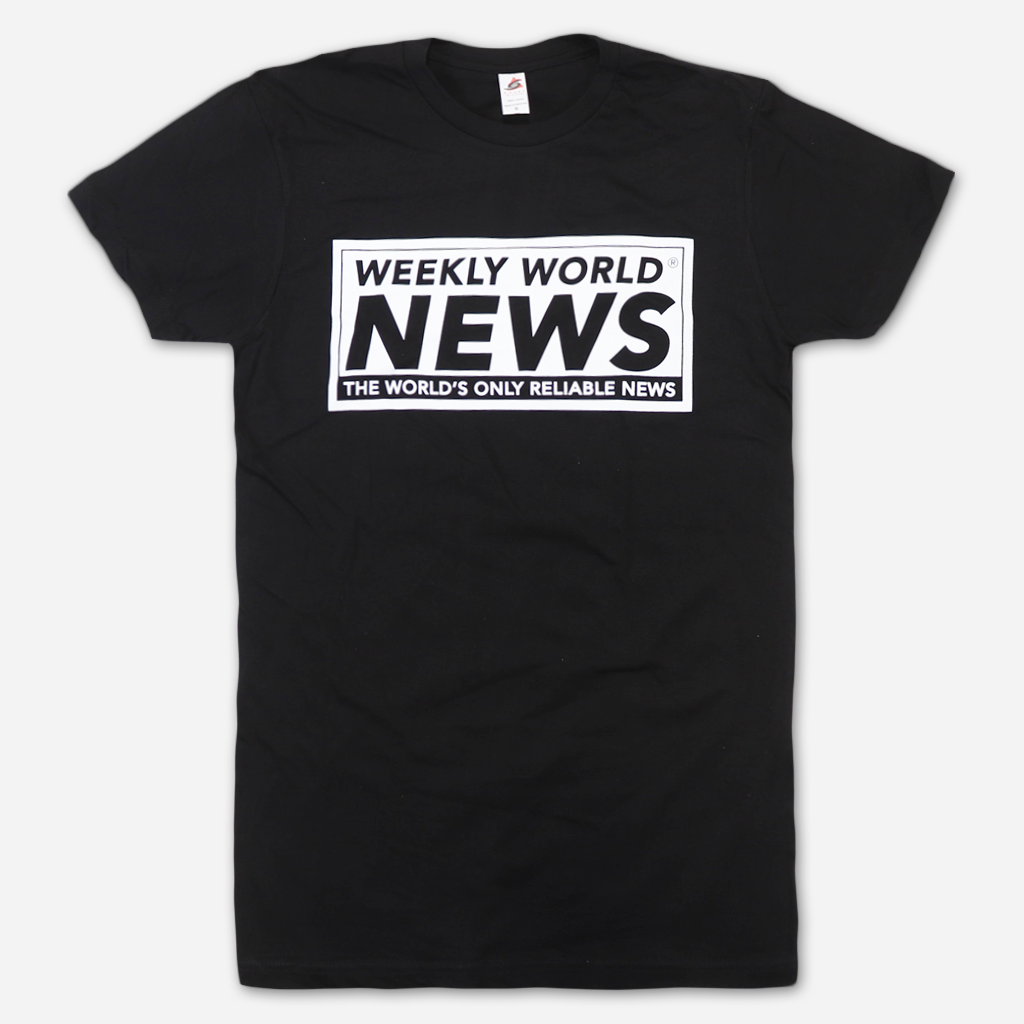WWN Logo Black T-Shirt