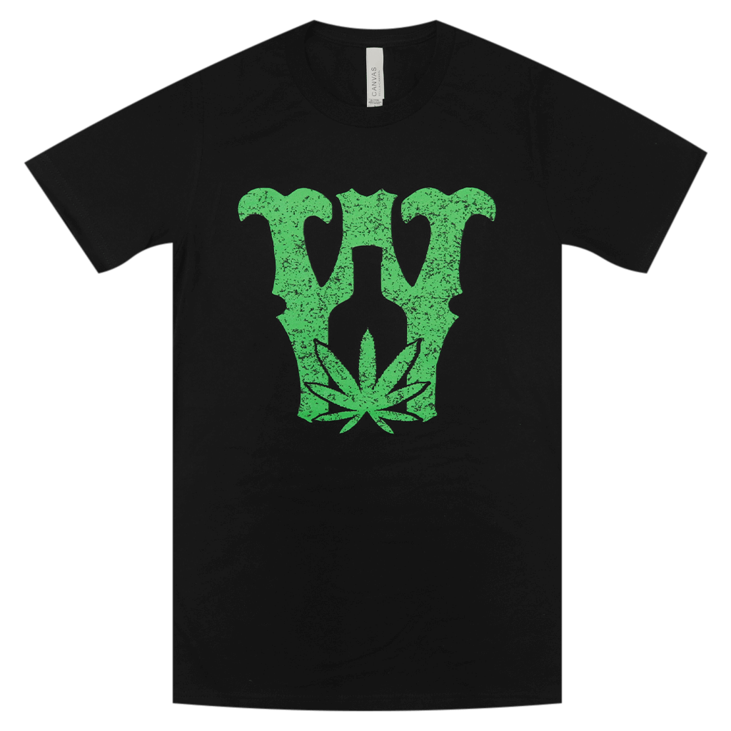 Weed and Whiskey Black T-Shirt