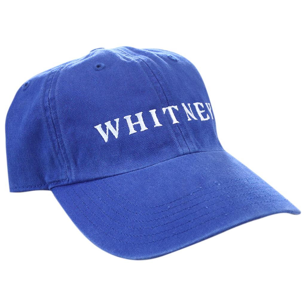 Candid Whitney Blue Dad Hat