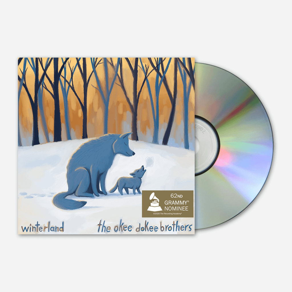 Winterland CD - The Okee Dokee Brothers - Hello Merch