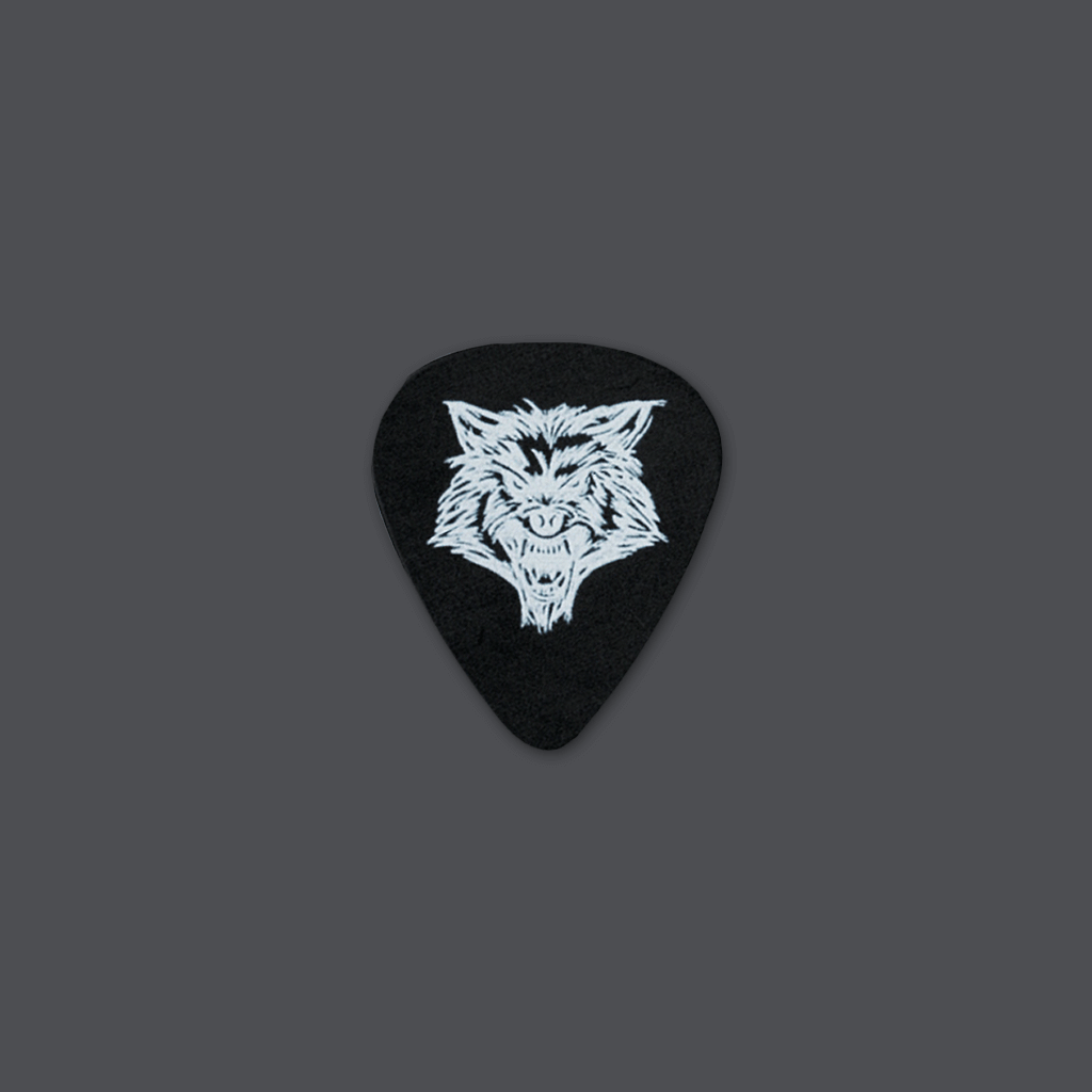 Wolf Head Guitar Pick