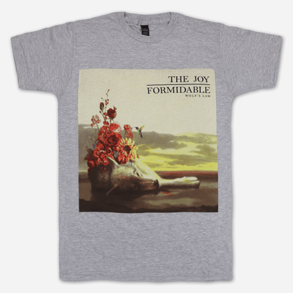 e0d500da Wolf's Law Heather Grey T-Shirt by The Joy Formidable for sale on  hellomerch.